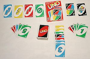 Our favorite card game -- Uno